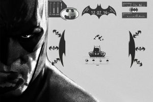 Batman Rainmeter skin