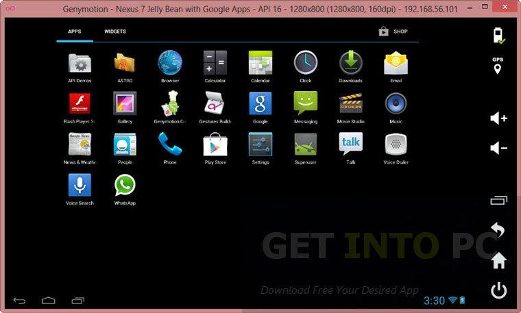 Genymotion-Android-Emulator-bluestacks alternative