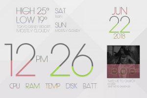 LIM!T Rainmeter theme