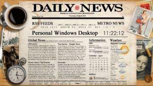 Newspaper Desktop