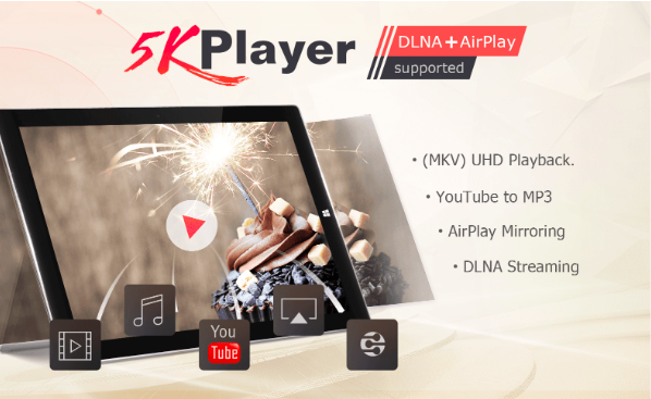Watch DVD with the 5KPlayer