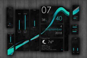 Wisp Rainmeter Theme