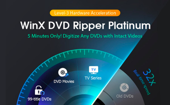 How to Play a DVD Movie on Windows 10 - WinX DVD Ripper