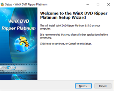 rip DVDs to MP4 with WinX DVD Ripper Platinum