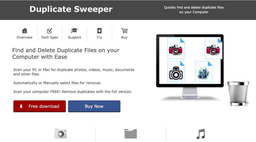 duplicate sweeper