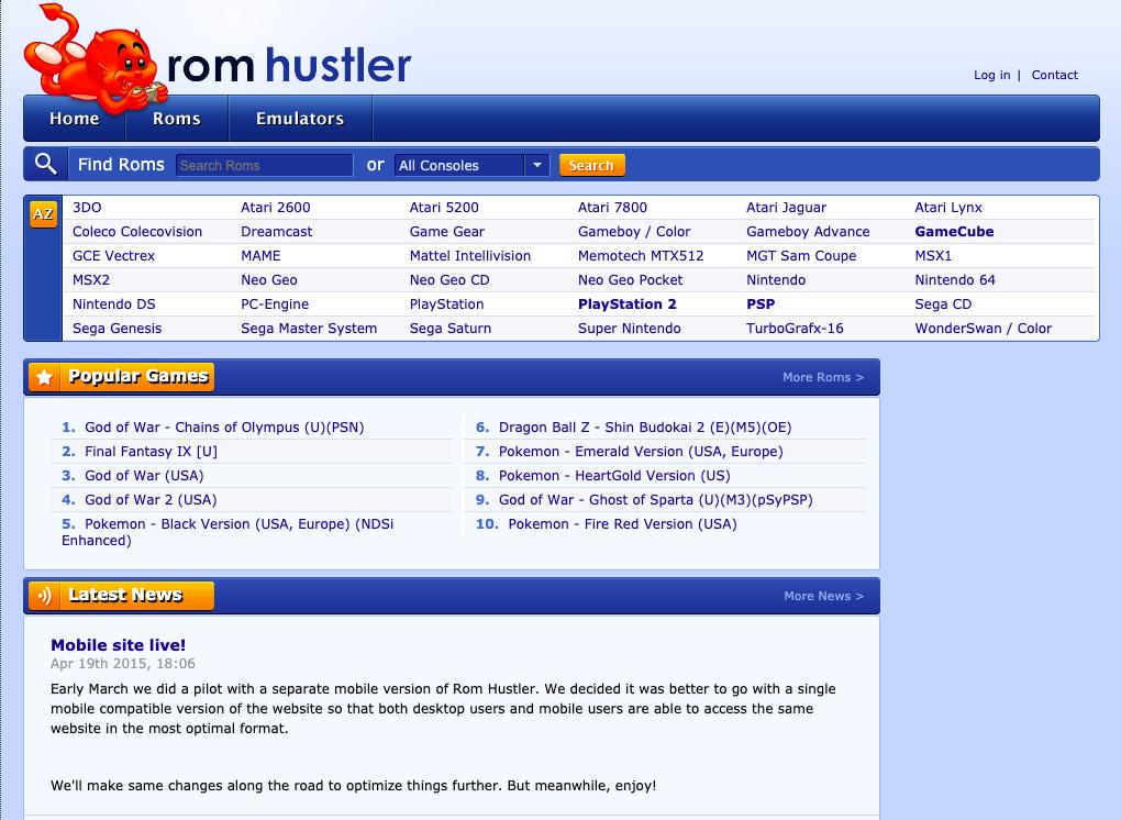 ROM huslter