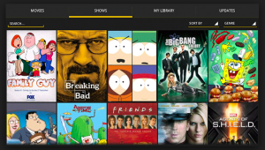Showbox Video never available