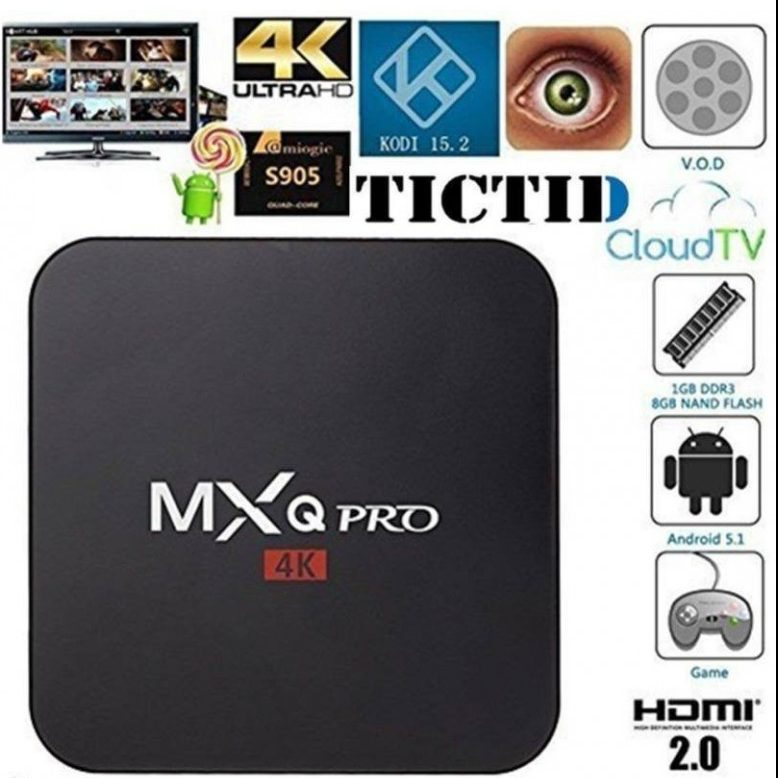 MXQ Pro 4k Firmware
