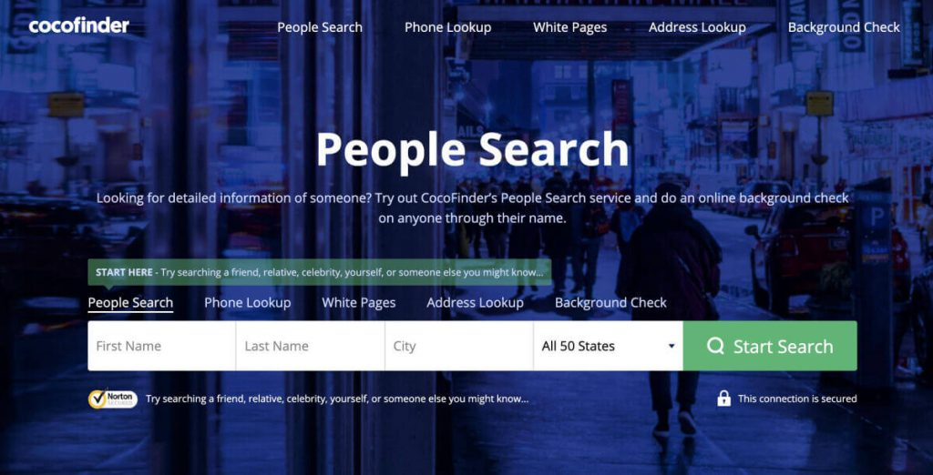 CocoFinder: Best People Search Website