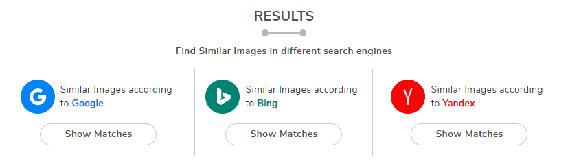 Reverse image search with smallseotools