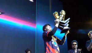 Tekken 2019 World Tour Champion trophy