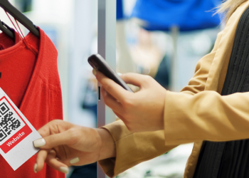 How do QR codes change the way people gather information from retail stores