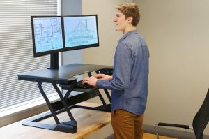 A Standing Desk Is the Heart of Your Home Office