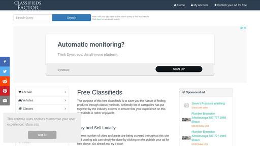 Classifiedsfactor.com