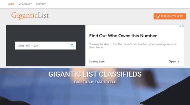 Giganticlist.com