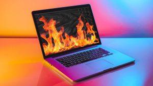 Overheating of Mac
