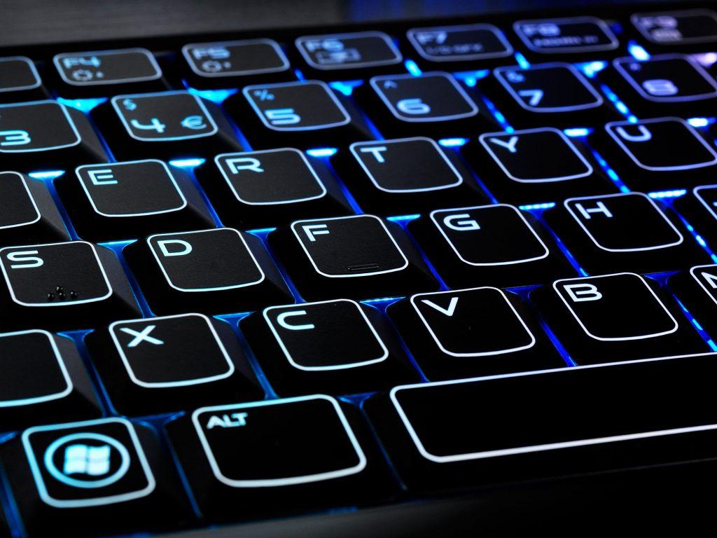 Typing Backward 3 on PC